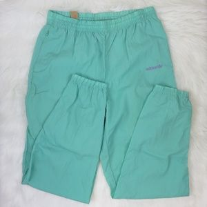 Adidas Green Vintage 90's Unlined Track Pants